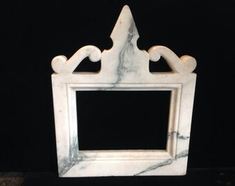 Vintage Marble Picture Frame