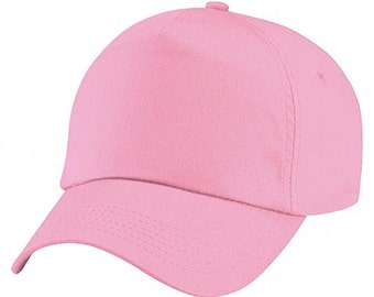 Quality Personalised Printed Baseball Caps Add Your Text, Photo or Logos