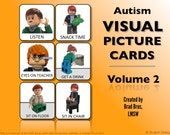Visual Picture Cards for Children with Autism Vol. 2