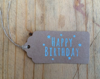 Happy Birthday Gift Tag