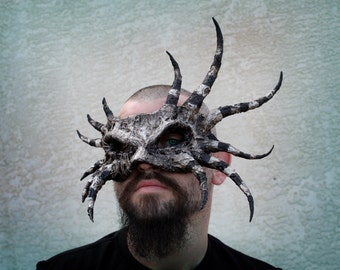 Handmade ooak HP lovecraft inspired halloween mask