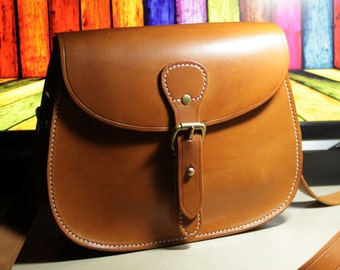2-for-1! PDF pattern saddle bag leather