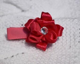 Pink Girl hair clip/ hair accessorie