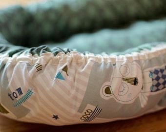 Baby nest Teddy Green
