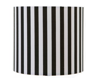 Black and white stripe Lampshade / Table Lamp /Ceiling Pendant