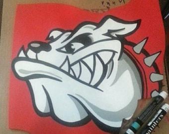 Canton McKinley Bulldogs Logo Ohio State sign