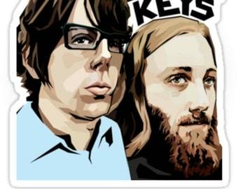 The Black Keys Band decal bumper sticker