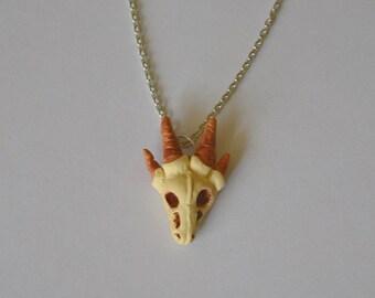 Dragon Skull Necklace