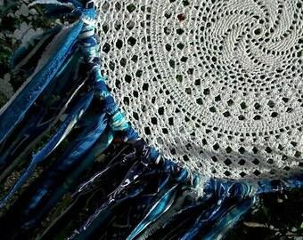 White and Blue DREAM CATCHER