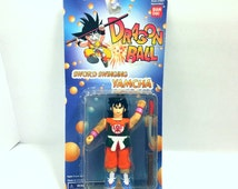 Bandai Dragonball Z Sword Swinging Yamcha Action Figure