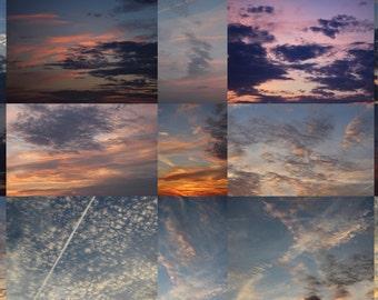 Evening Skies Overlays