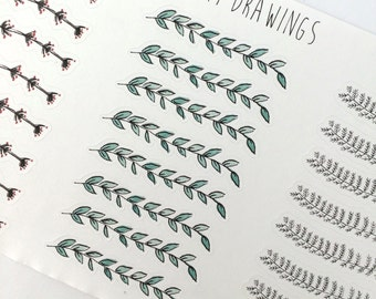 Fall Branch Stickers