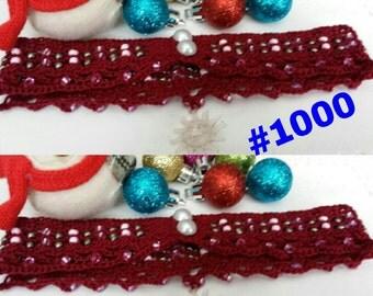 Victorian Crochet Choker