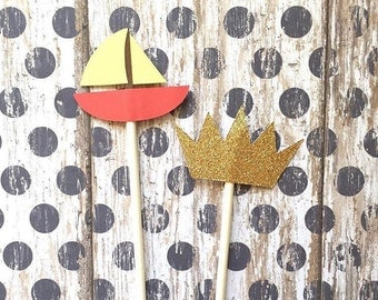 12 Where the Wild Things Are Cupcake Toppers, Where the Wild Things Are Party, Where the Wild Things Are Decor, Cupcake Topper, Cake Topper