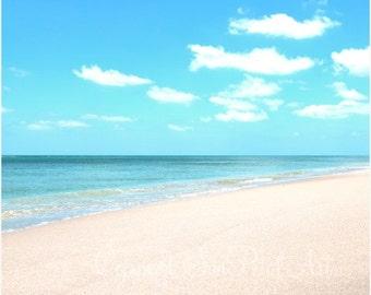 Beach Art Print, Beach Cottage Decor, Ocean Photograph, Beach Wall Art, Ocean Art, Beach Picture, Beach Photograph, Beach Decor, Sand.
