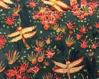 1 Yard September Light by Lida Enche Fireflies In The Beginning Fabric