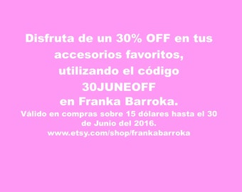 30 percent discount in all your purchases
