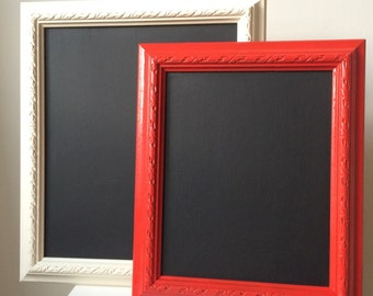 Chalkboard vintage painted frame