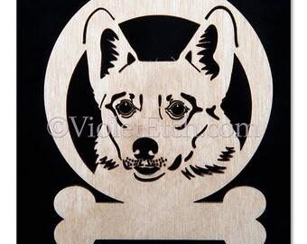 Pet Ornament-Cardigan Corgi-Cardigan Corgi Ornament-Cardigan Corgi Gift-Laser Cut Ornament-Free Personalizaion