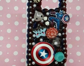 decoden Captain America phone case iphone samsung galaxy kawaii
