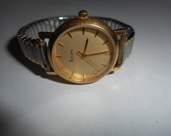 25% OFF Vintage Gold Ladies Womens Bulova Watch, Nice