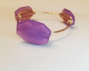 Purple Paradise Bangle