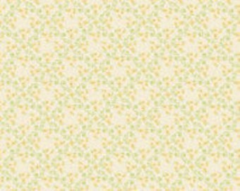 Riley Blake Vintage Baby in Yellow Small Flowers - 1 yard