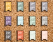 48 Pay Day Flag Stickers for 2017 Inkwell Press IWP-H2