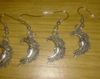 Beautiful moon earrings
