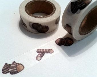 Chocolate desserts Washi Tape