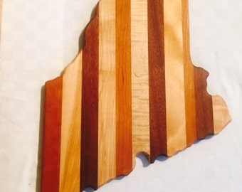 State of Maine cutting board