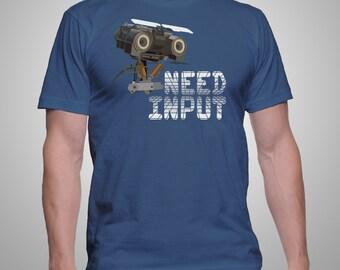 Need Input Short Circuit Fan Art Tee