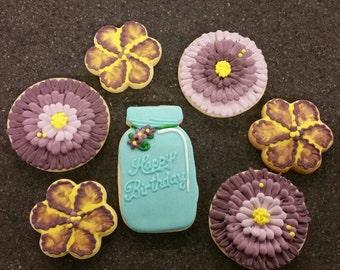 Decorated Cookie Jar Etsy