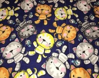 Little Kitty Burp Cloth