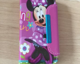 Disney Minnie Mouse PU Leather Case For iPhone SE /5 / 5s Ship From NY