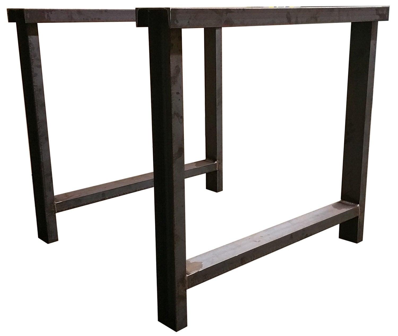 Metal Table Legs 3 C Channel Custom Made Beam Legs