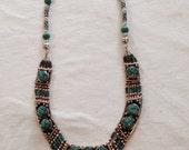 Handmade Turqoise Necklace