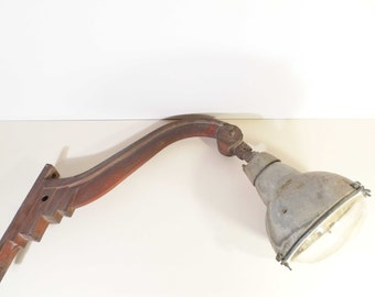 Stem of Street Art Deco lamp