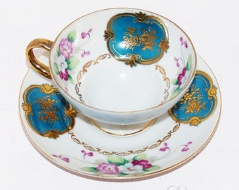 Trimont China Hand Painted Vintage China Teacup Occupied Japan - 584