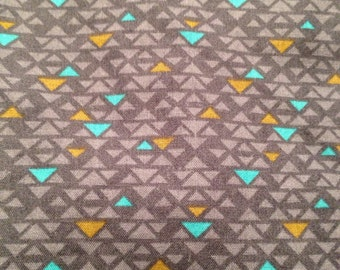 Homemade Geometric inspired fitted sheet for your pack n play, playpen, playyard and pack and play