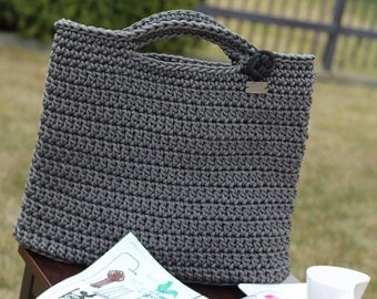 Knitted bag Rope bag Handmade bag Crochet bag Sack Market Bag