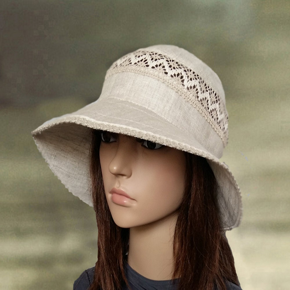 Suns hats women Cotton summer hats Linen women's by ...