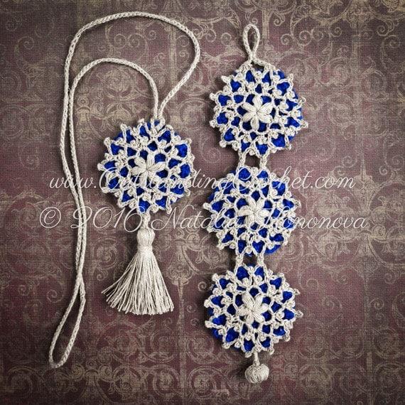Crochet Scarf Jewelry Free Pattern : Outstanding Crochet: New crochet jewelry pattern ...