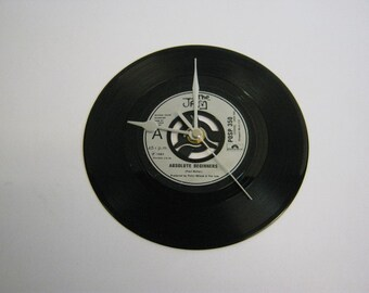 "The Jam - ""Absolute Beginners"" Record Wall Clock"