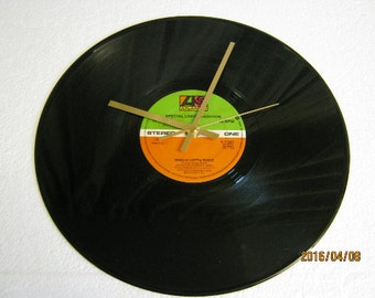 AC/DC Record Wall Clock