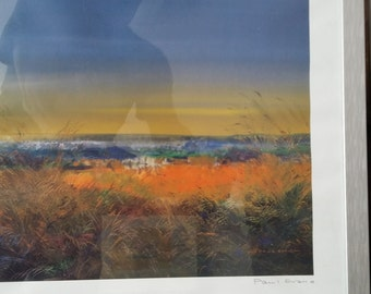Pair of signed giclees by Paul Evans
