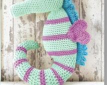 Crochet Seahorse Pattern only Natura XL Yarn