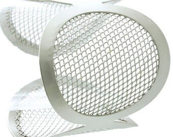 Mesh Metal Cuff Bracelet
