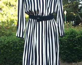 ON SALE NOW!! Vintage Liz Claiborne Pinstripe Dress