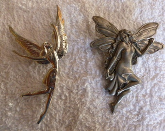 Fairy Brooches-Vintage Brooch